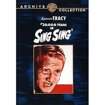 20,000 Years in Sing Sing [DVD] USA import