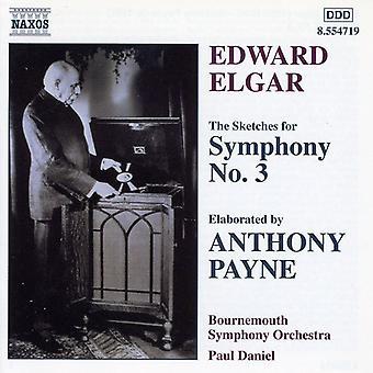 エルガー - エルガー: 交響曲第 3 番 [CD] アメリカ輸入のためのスケッチ