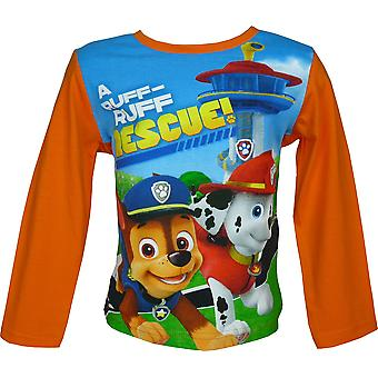 Paw Patrol Boys Long Sleeve T-Shirt / Top