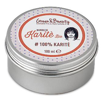 Green & Beauty Manteca De Karité Bio Green&Beauty100 g