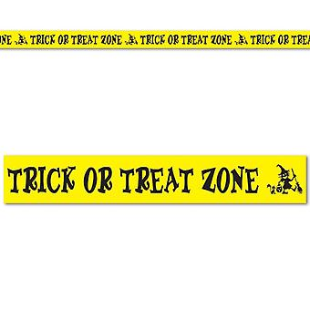 Trick Or Treat Zone Tape Party