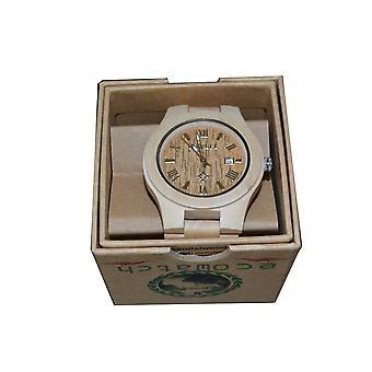 Stationnez montre bois érable érable bois horloge horloge en bois bois véritable cadeau idée cadeau unique