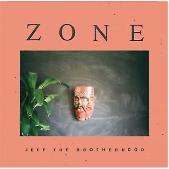 Jeff broderskab - Zone [CD] USA importerer