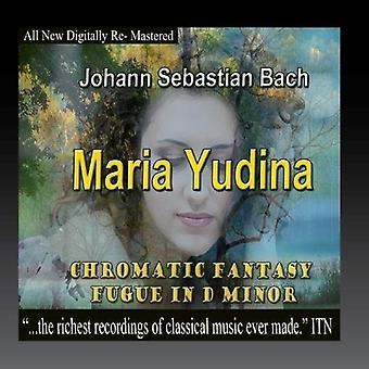 Bach, J.S. / Yudina, Maria - kromatiska Fantasy Fuga i D-moll [CD] USA import