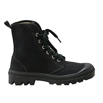 Unisex Footwear Hi Pampa Canvas Black Boots Shoes
