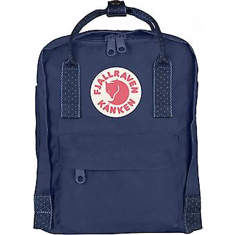 Fjallraven Kanken Mini Royal Blue/Pinstripe Pattern