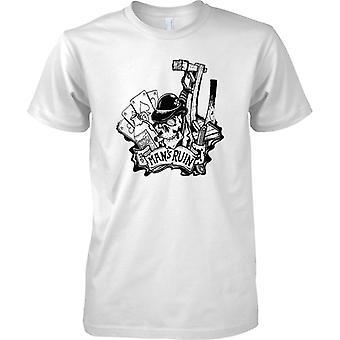 Sirve la ruina del diseño - juego de beber - tatuaje para hombre T Shirt