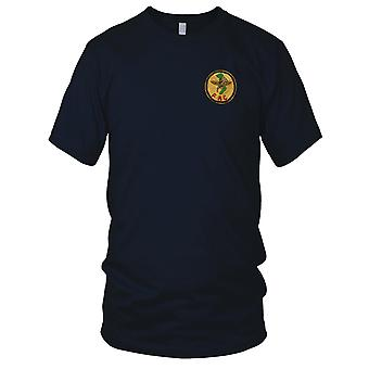 USAF Air Force Forward Air Controller FAC - Military Inisgnia Vietnam War Embroidered Patch - Mens T Shirt