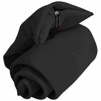 Premier Tie - Mens Plain Workwear Clip On Tie