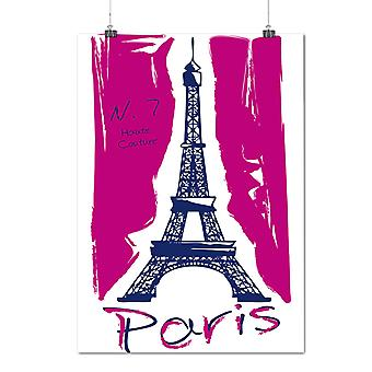 Matte or Glossy Poster with Paris | Wellcoda | *d2000