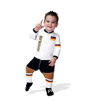 Germany Football Baby Suit