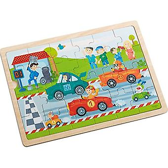 Haba-Wooden Puzzle Fast Sports Cars