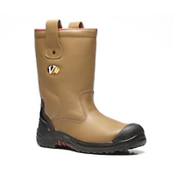 V12 VR690 Grizzly Tan Fleece Lined Rigger Boot EN20345:2011-S3 Ci Size 10