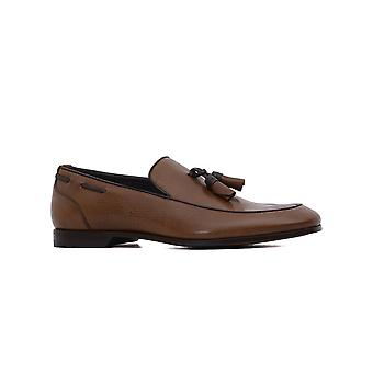 Rossi gents 5799 brown leather moccasins