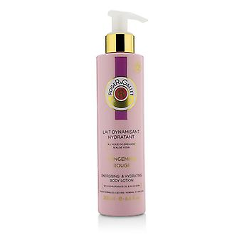 Roger & Gallet Gingembre Rouge Energising & Hydrating Body Lotion (with Pump) 200ml/6.6oz