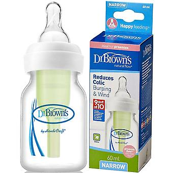 Dr Brown's Options 60ml Preemie Bottle
