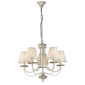 Maytoni Lighting Olivia Elegant Collection Chandelier, Ivory