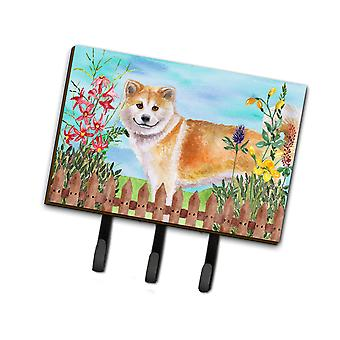 Carolines Treasures  CK1240TH68 Shiba Inu Spring Leash or Key Holder