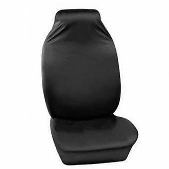 Caraselle Deluxe Heavy Duty Zwart Front Car Seat Cover in Nylon