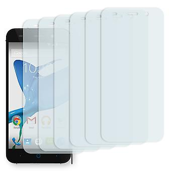 ZTE blade L6 display protector - Golebo Semimatt protector (deliberately smaller than the display, as this is arched)