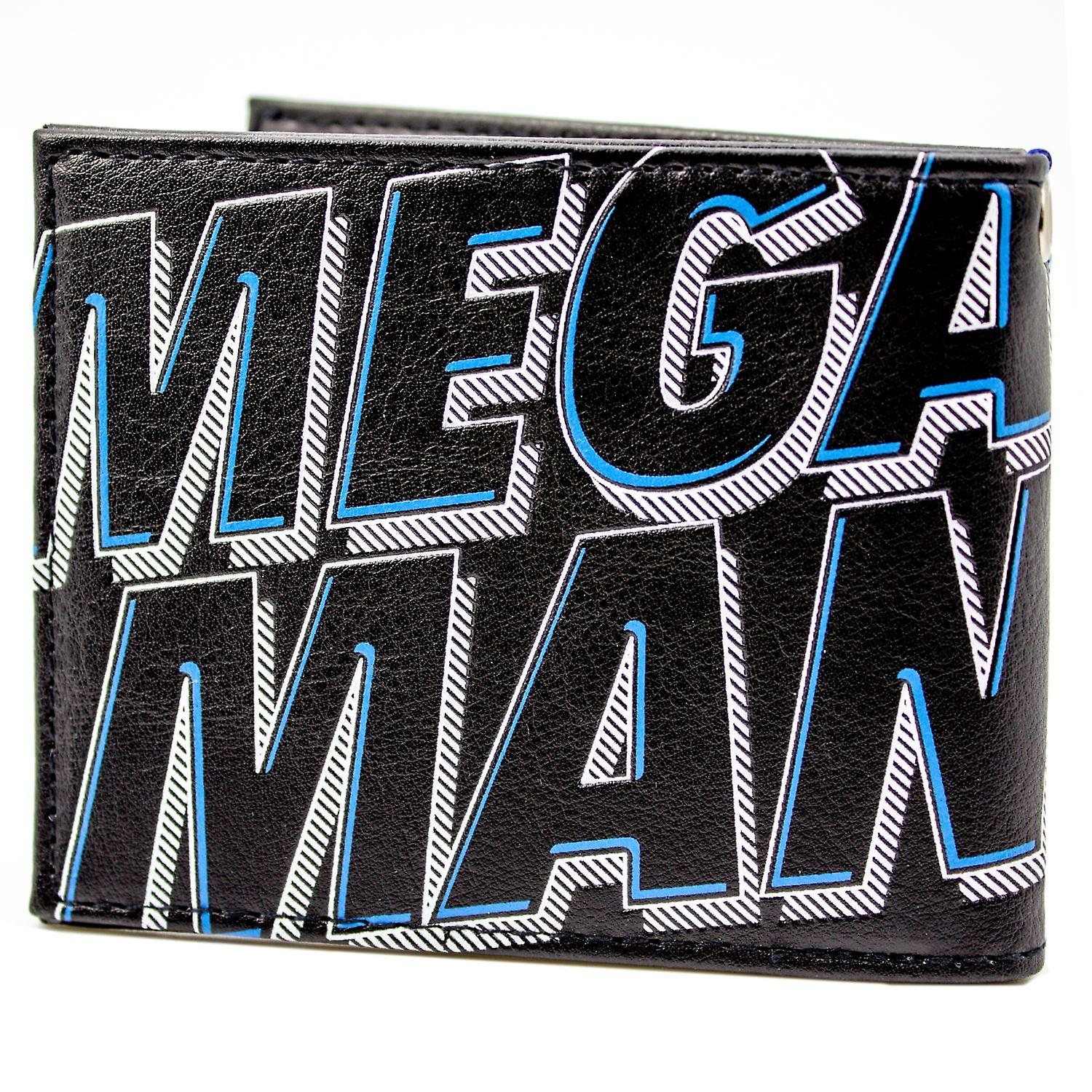 Mega Man Retro NES Game Robot Hero ID & Card Bi-Fold Wallet