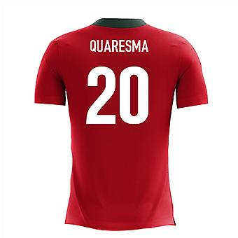 2018-2019 Portugal Airo Concept Home Shirt (Quaresma 20)