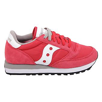 Saucony women's 2044311 red leather of sneakers