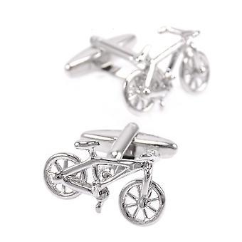 Tour De France Cycling Sports Cufflinks Cuff Bike Cycle Gift Yellow Jersey