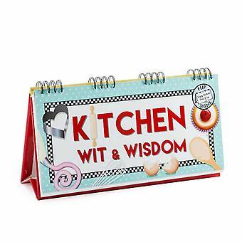 Sabiduría y el ingenio de cocina tapa libro
