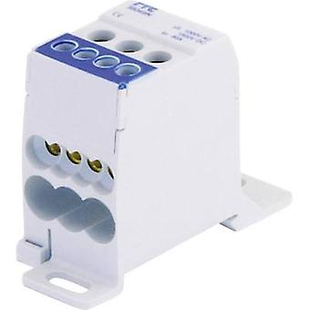 Distribution block Blue 1-pin 80