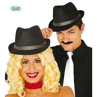 Guirca Black Gangster Hat (Babies and Children , Costumes)
