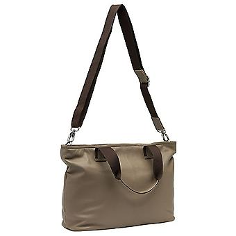 Burgmeister ladies shoulder bag T206-115B leather taupe