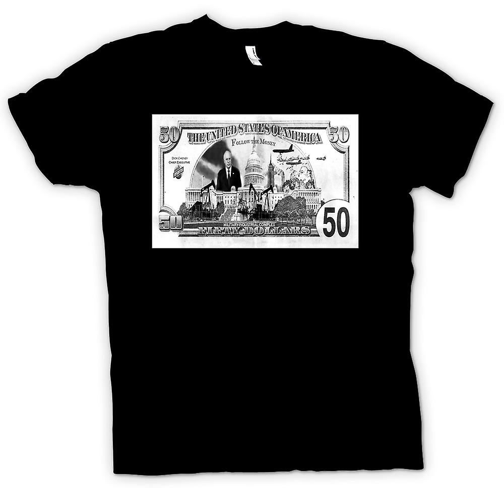 Mens T-shirt - USA Follow The Money