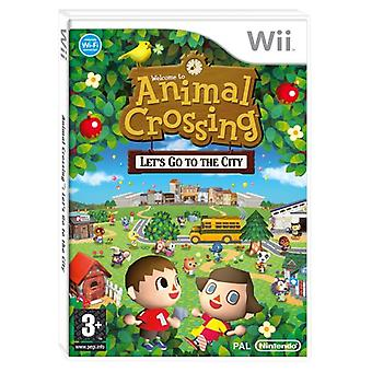 Animal Crossing Lets Go To The City (Wii)