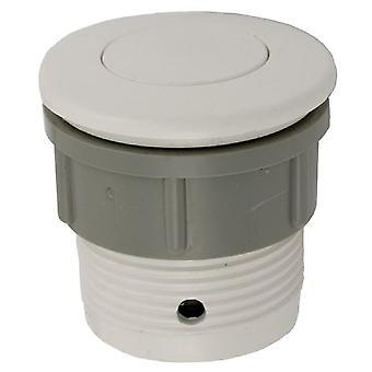 Waterway 650-3000 1.5-Inch Hole Sie 2-Inch FD Air Button Flush - White