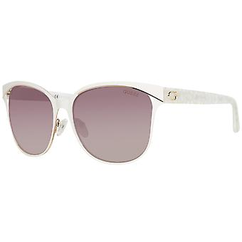Guess sunglasses ladies white