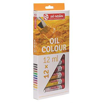 Talens Art Creation Oil Colour Set 12 x 12ml