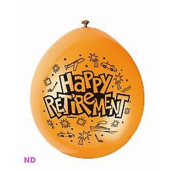 """Balloons 'HAPPY RETIREMENT' 9"""" Latex (10)"""