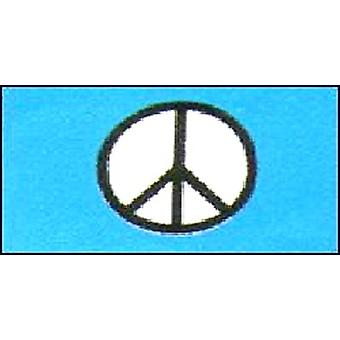 CND Peace Flag 5ft x 3ft With Eyelets For Hanging