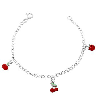 Orphelia Silver 925 Kids Bracelet Red Elements  ZA-7149
