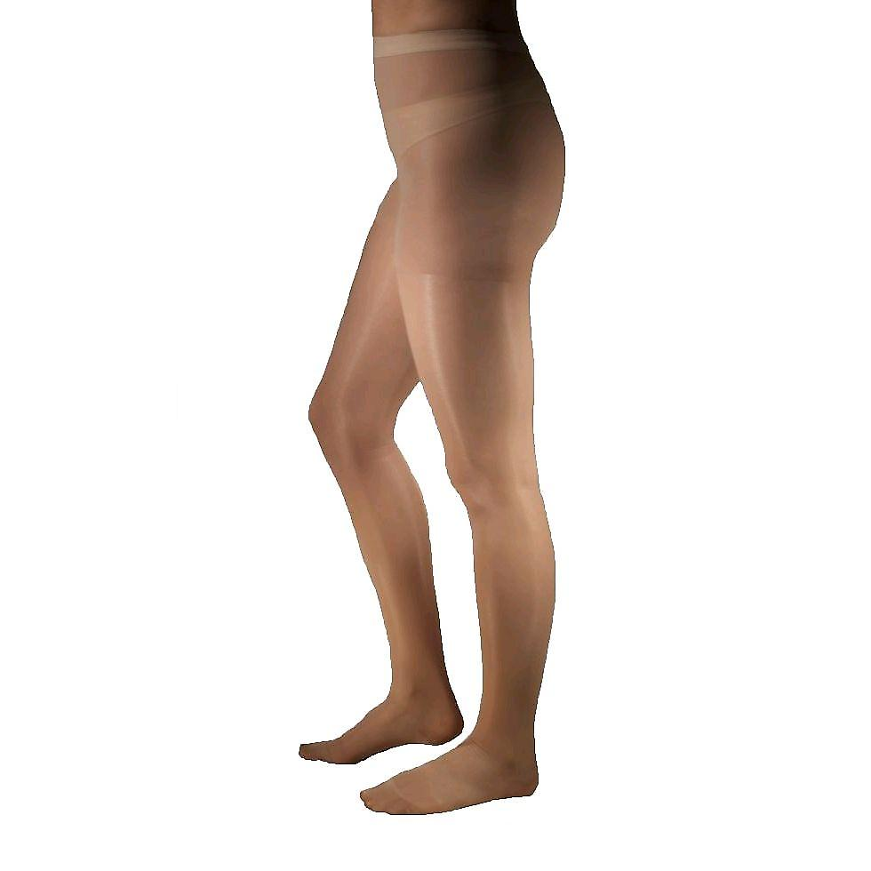 Pebble UK Sheer Compression Tights [Style P33] Beige  L