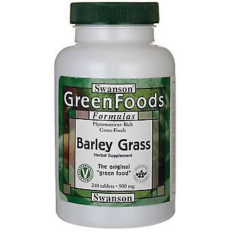 Swanson Barley Grass 500 mg 240 Tablets (Herbalist's , Supplements)