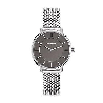 Pierre Cardin Damen Uhr Armbanduhr Brochant Femme silber PC107872F05