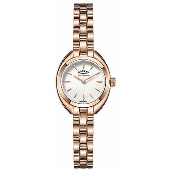 Rotary Womens Les Originales Lucerne Rose Gold PVD Plated LB90161/02 Watch