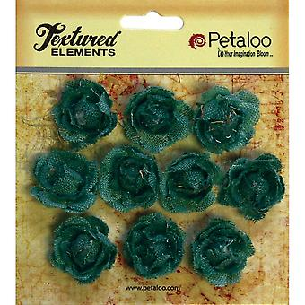 Textured Elements Mini Canvas Rosettes 1