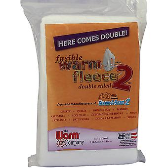 Warm Fleece Polyester Double Sided Fusible Batting-36