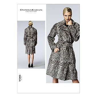 Misses' Coat and Belt-6-8-10-12-14 -*SEWING PATTERN*