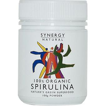 Synergy Natural Organic Spirulina Powder, 100g