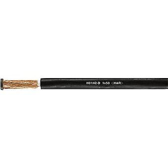 Helukabel 31006 Welding cable H01N2-D 1 x 70 mm² Black Sold by the metre