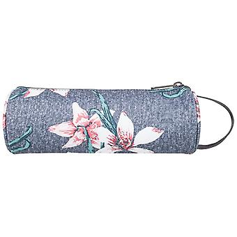 Roxy Off The Wall Pencil Case - Charcoal Heather